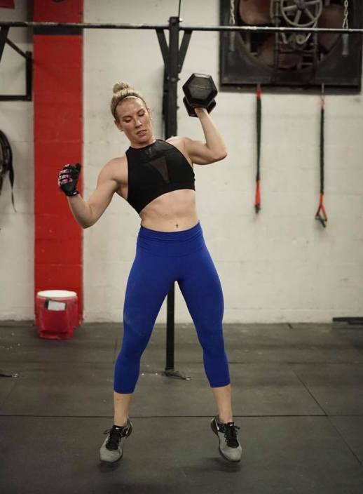 Lindsay Alvestad at CrossFit 9 St Pete FL Art and Animal Blog